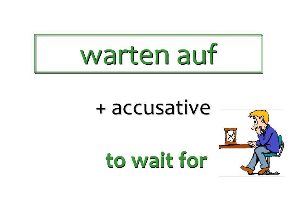 warten auf schreiben an denken an helfen bei halten von warten auf