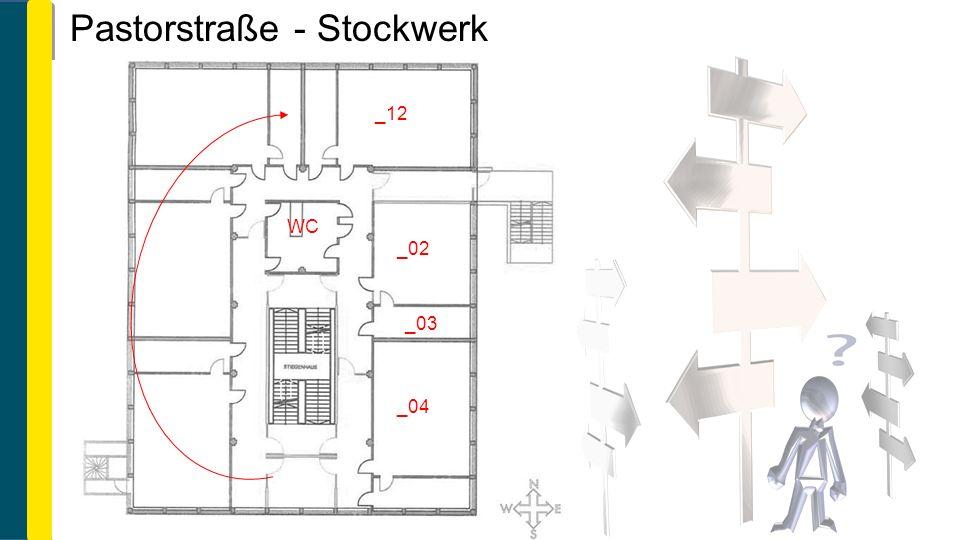 Pastorstraße - Stockwerk WC _02 _03 _04 _12
