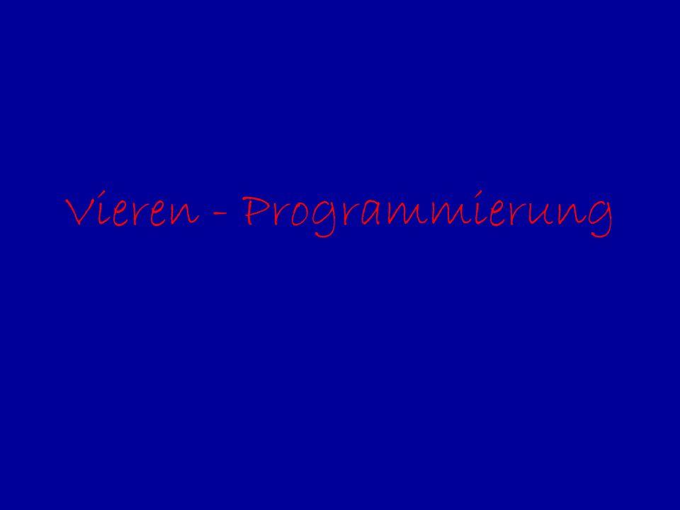 Vieren - Programmierung