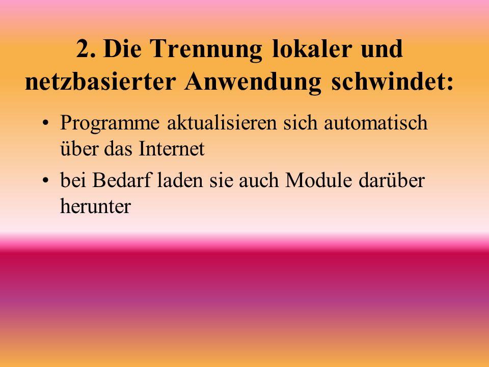3.Strenge Rolleverteilung Der Bearbeiter bzw.