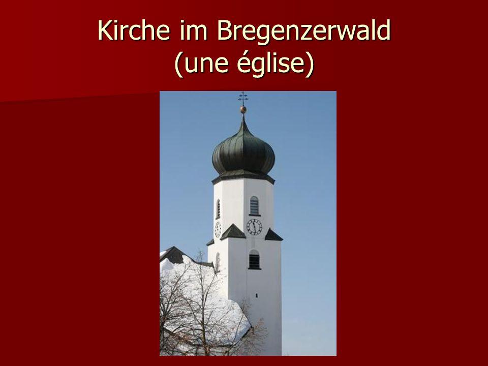 Kirche im Bregenzerwald (une église)