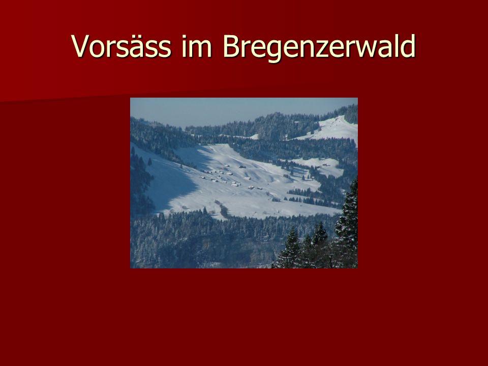 Vorsäss im Bregenzerwald