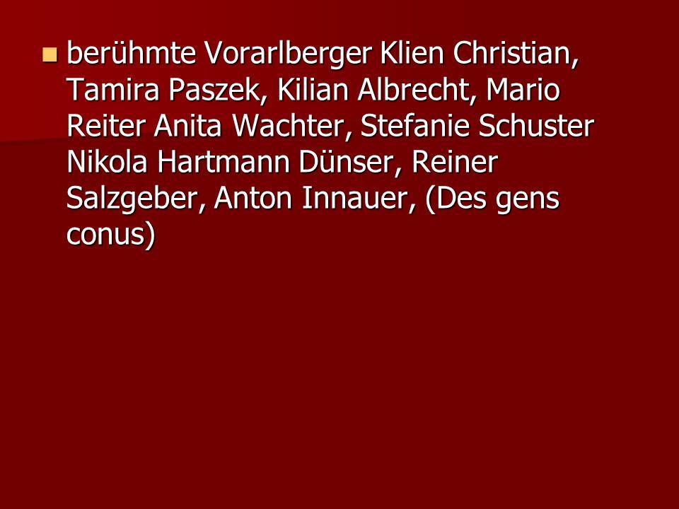 Berühmte Personen (les personnages connus)