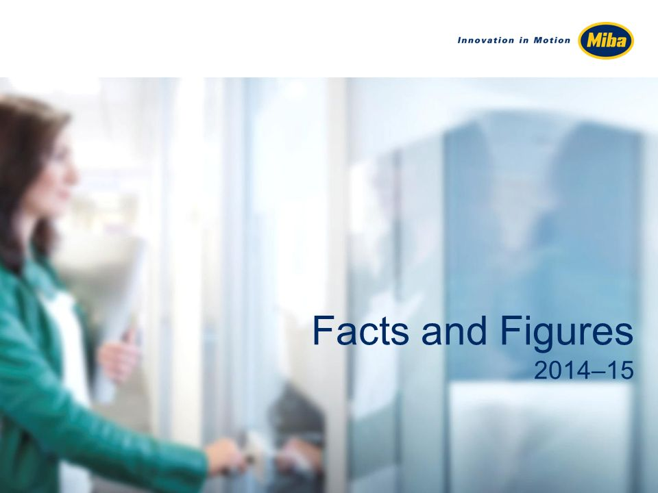 Facts and Figures 2014–15