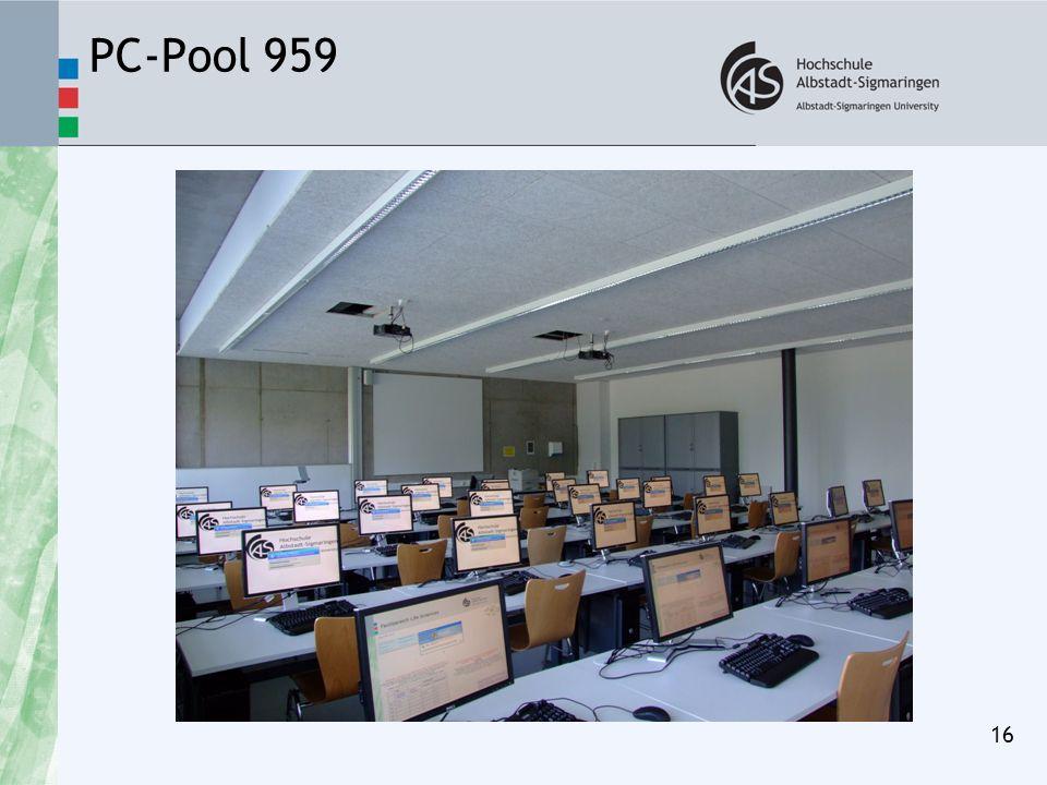 PC-Pool 959 16