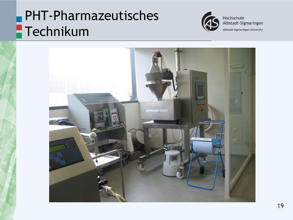 PHT-Pharmazeutisches Technikum 19