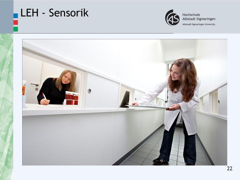 LEH - Sensorik 22