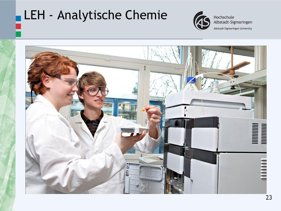 LEH - Analytische Chemie 23