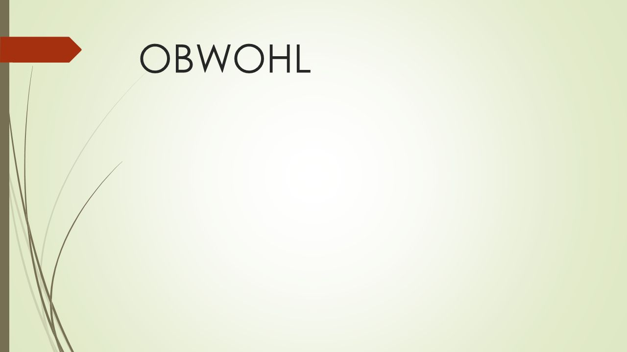 OBWOHL