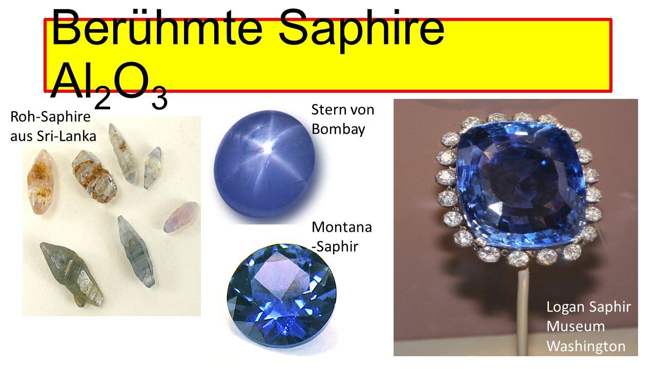 Berühmte Saphire Al 2 O 3 Stern von Bombay Roh-Saphire aus Sri-Lanka Logan Saphir Museum Washington Montana -Saphir