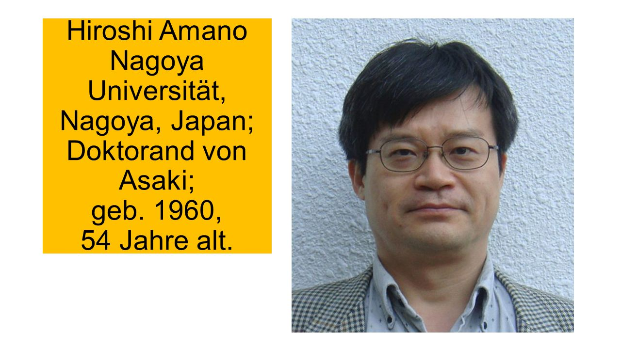 Shuji Nakamura University of California in Santa Barbara, früher Forschungsleiter der japanischer Firma Nichia.
