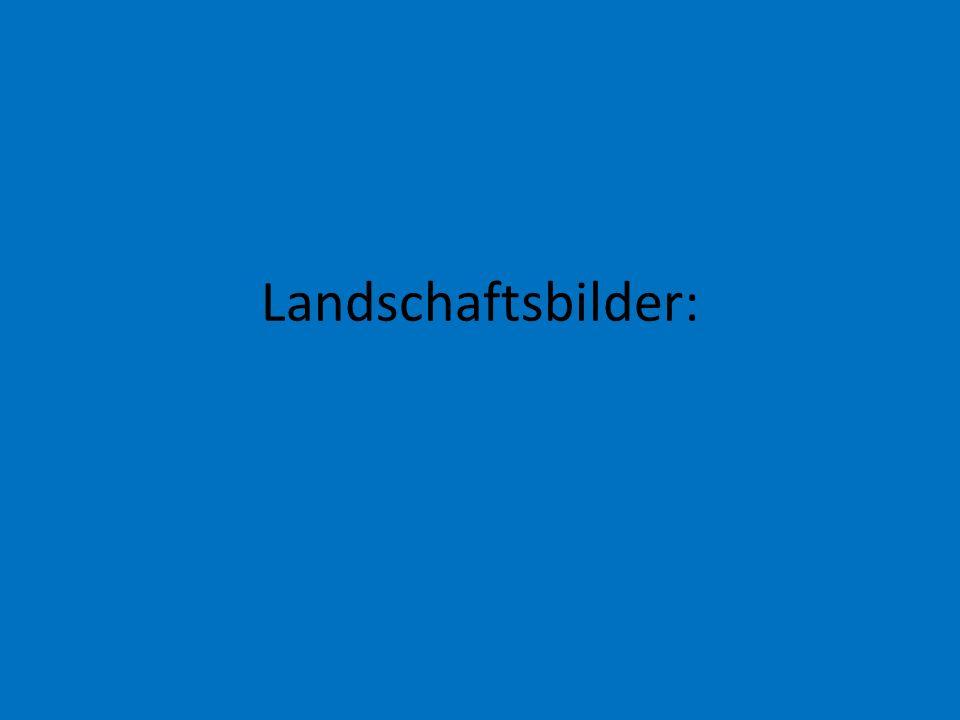 Landschaftsbilder: