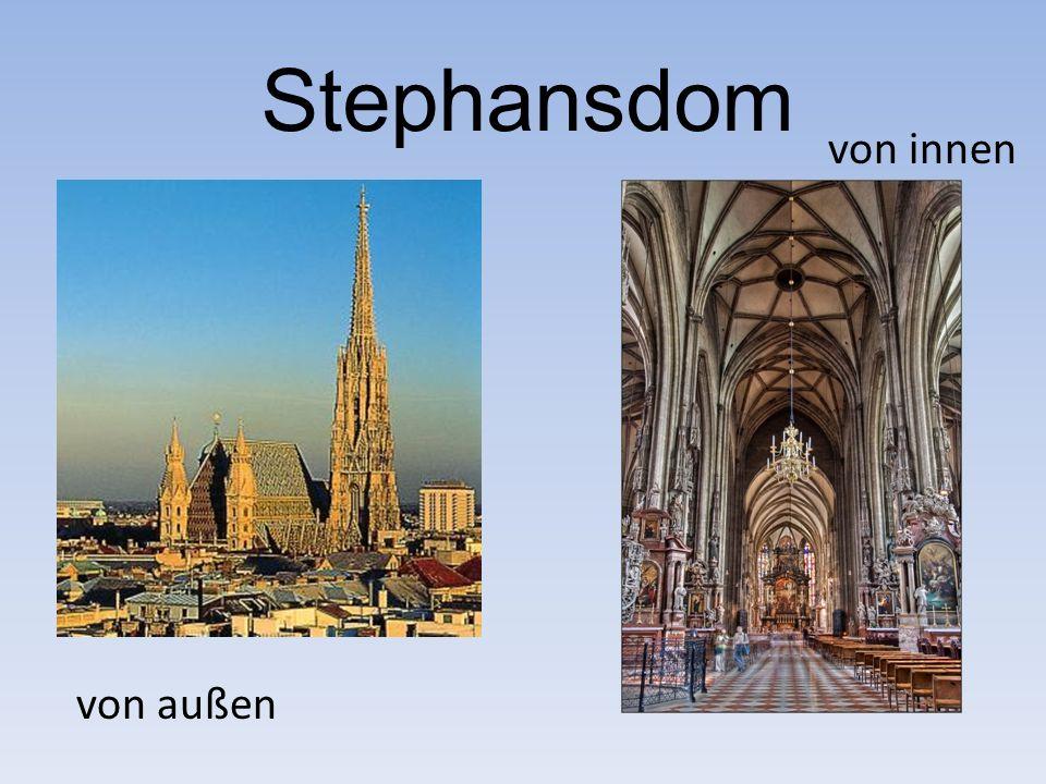 Stephansdom von außen von innen