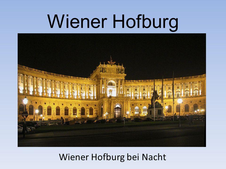 Wiener Hofburg Wiener Hofburg bei Nacht