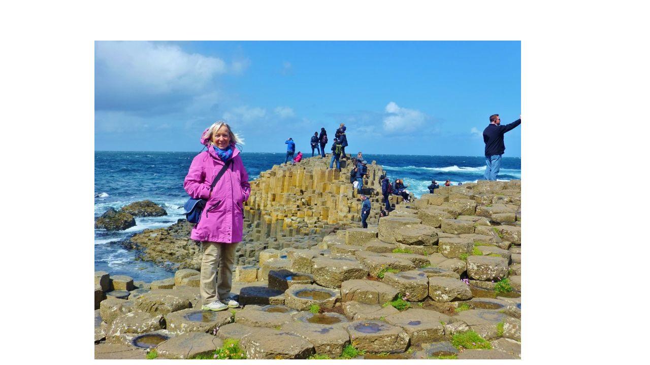 Das einzige irische Naturdenkmal entstand vor rund 60 Millionen Jahren durch eine vulkanische Eruption der Erdkruste, deren Spuren sich von der Küste Antrims bis zu den vor Schottland gelegenen Inneren Hebriden nachweisen lassen.