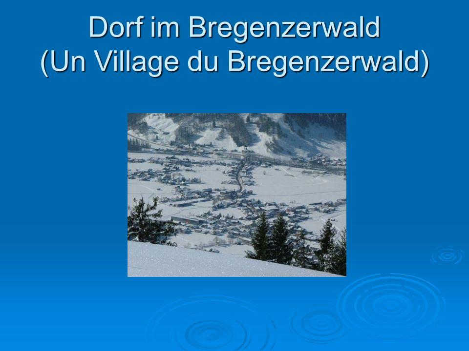Dorf im Bregenzerwald (Un Village du Bregenzerwald)