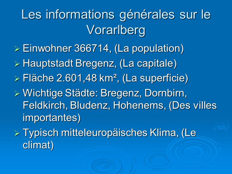 Täler  meiste Firmen im Rheintal (la plupart des entreprises dans la vallée du Rhin)  Große Firmen die am Weltmarkt teilhaben sind im Rheintal (On trouve des grandes entreprises dans la vallée du Rhin )
