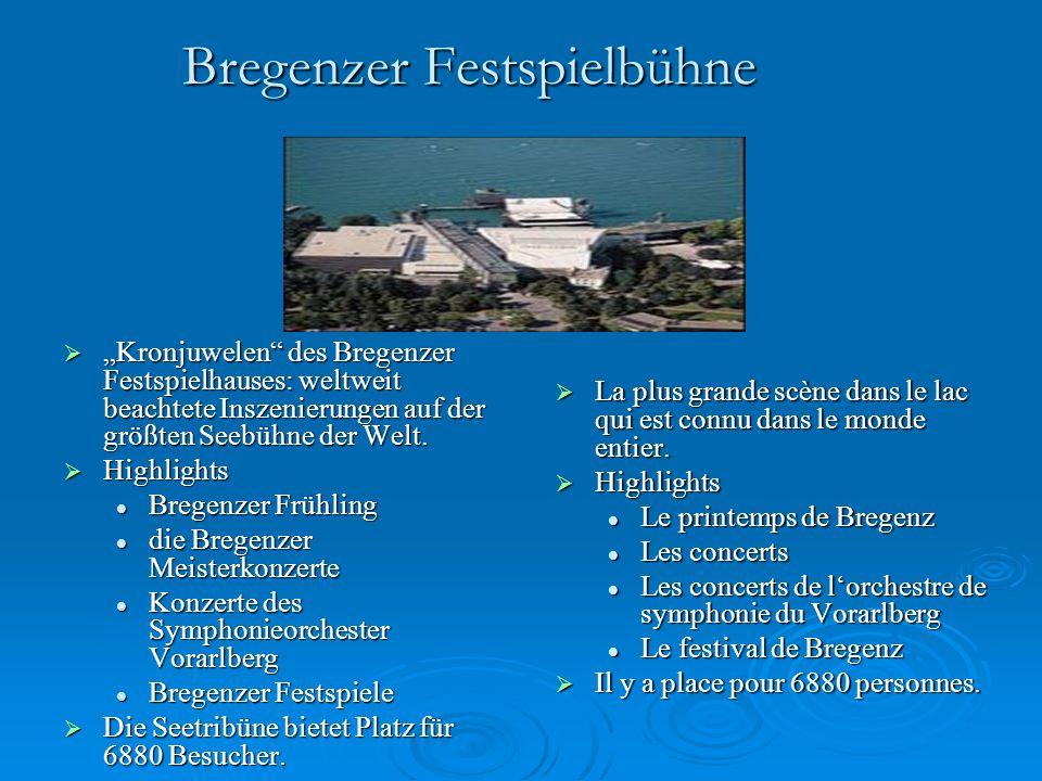 """Bregenzer Festspielbühne  """"Kronjuwelen des Bregenzer Festspielhauses: weltweit beachtete Inszenierungen auf der größten Seebühne der Welt."""