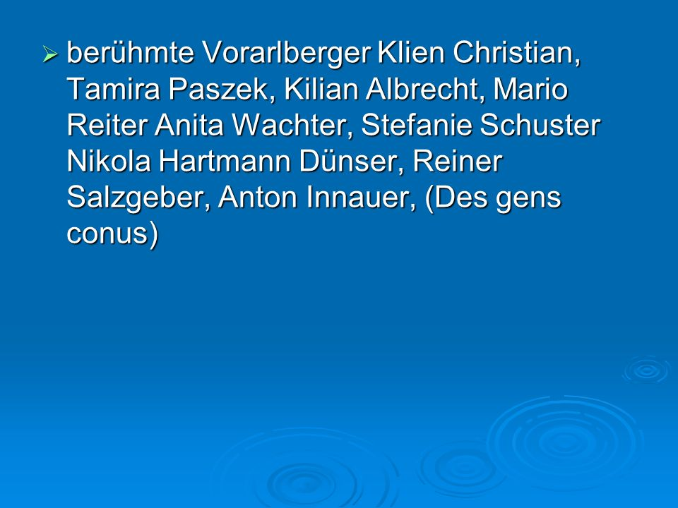 Die Bregenzer Festspiele – Le festival de Bregenz  Werkstattbühne, Seefoyer, Konferenzräume (salle de conference) Seebühne (scène sur le lac)…  Weltgrößte Seebühne ( la plus grande scène du monde)  Jährliches Kulturfestival im Juli und August in Bregenz (festival culturel annuel en juillet et en août).