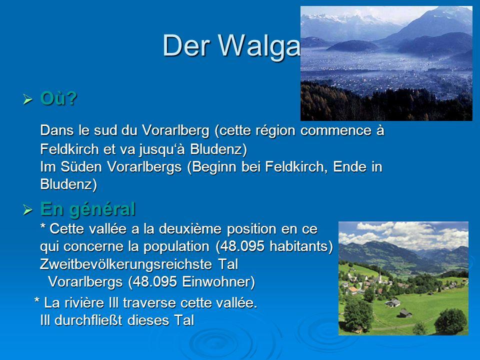 Der Walgau  Où.