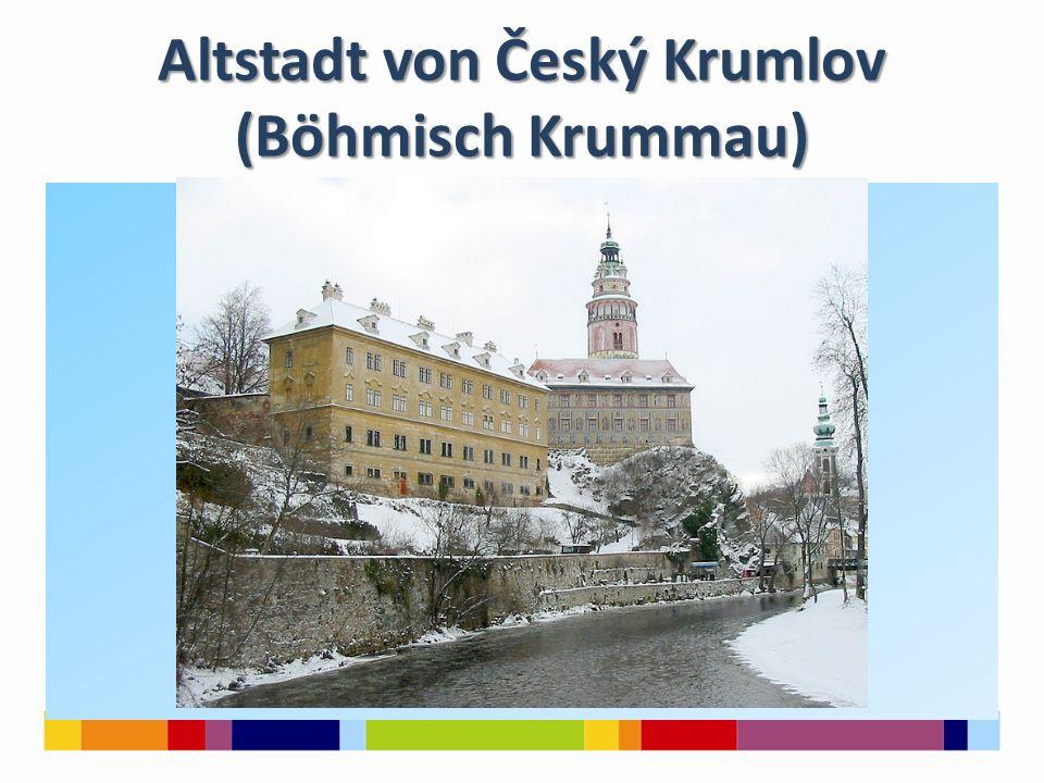 Altstadt von Český Krumlov (Böhmisch Krummau)