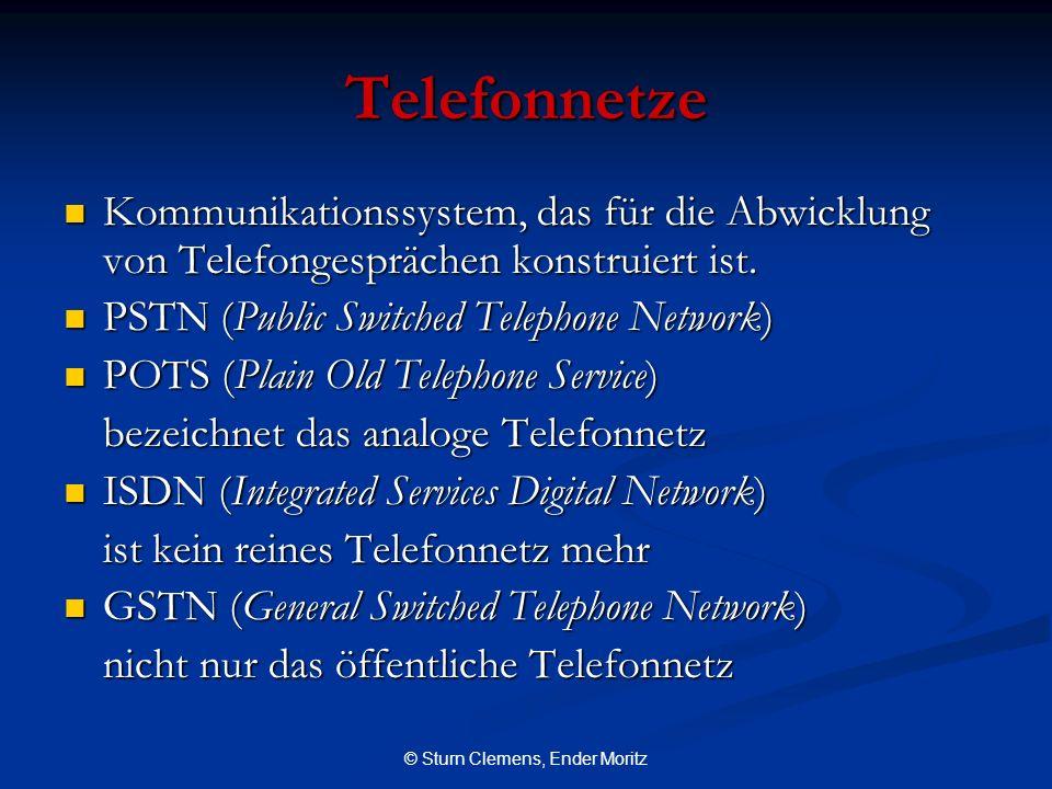 © Sturn Clemens, Ender Moritz Telefonnetze Kommunikationssystem, das für die Abwicklung von Telefongesprächen konstruiert ist. Kommunikationssystem, d