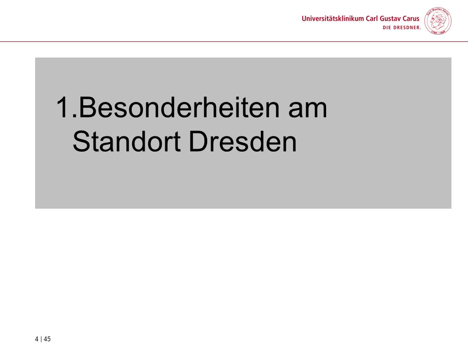 3. Die UKD Service GmbH 15 | 45