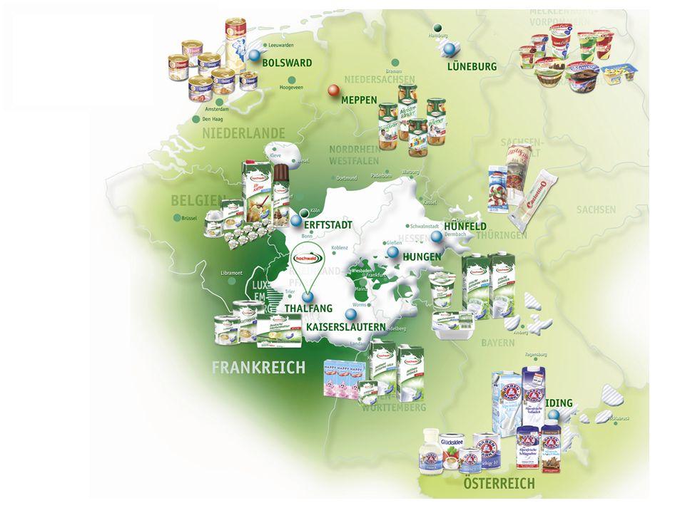 Hochwald Kennzahlen 2013 Jahresmilchmenge2.161,1 Mio.