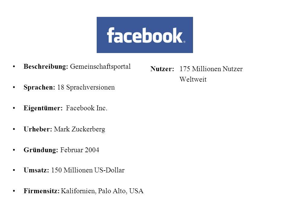 Kommunikation im Internet Dazu zählen verschiedene Internetportale wie:  Facebook  Xing  Linked-In  Netlog Auf diesen Portalen können sich die Use