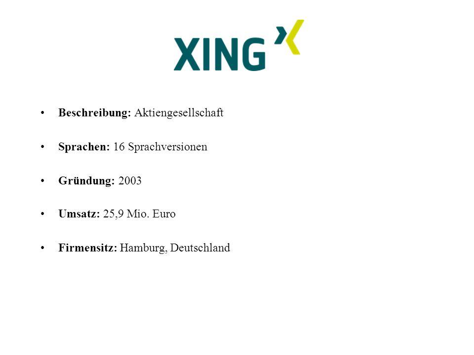 Beschreibung: Aktiengesellschaft Sprachen: 16 Sprachversionen Gründung: 2003 Umsatz: 25,9 Mio.