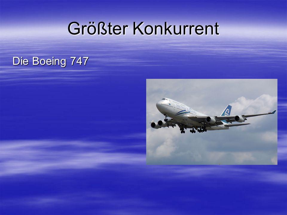 Größter Konkurrent Die Boeing 747