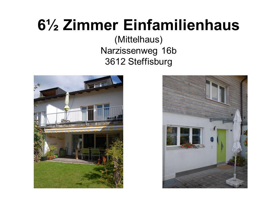 6½ Zimmer Einfamilienhaus (Mittelhaus) Narzissenweg 16b 3612 Steffisburg