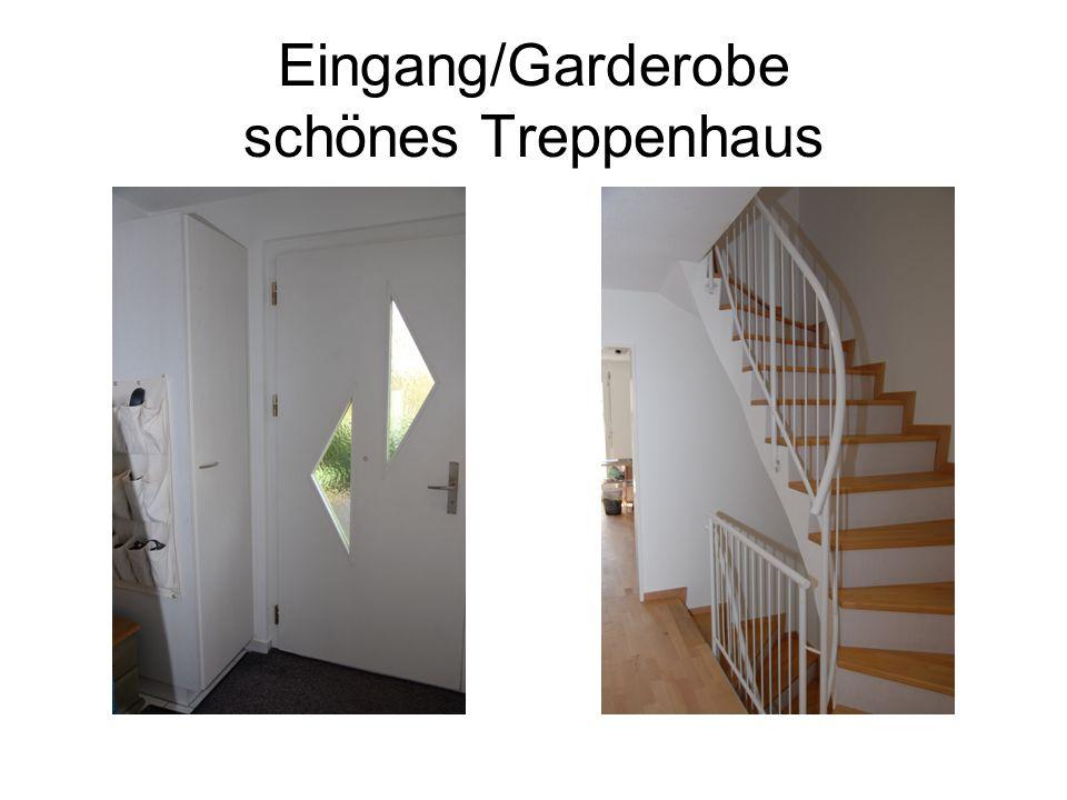Eingang/Garderobe schönes Treppenhaus