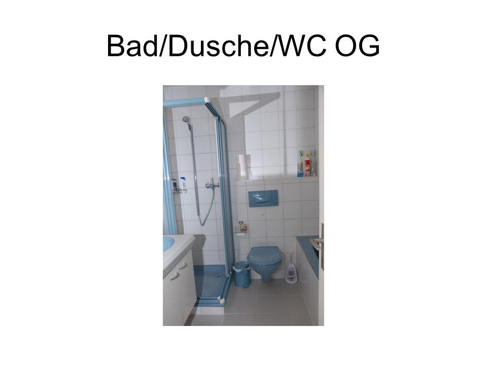 Bad/Dusche/WC OG