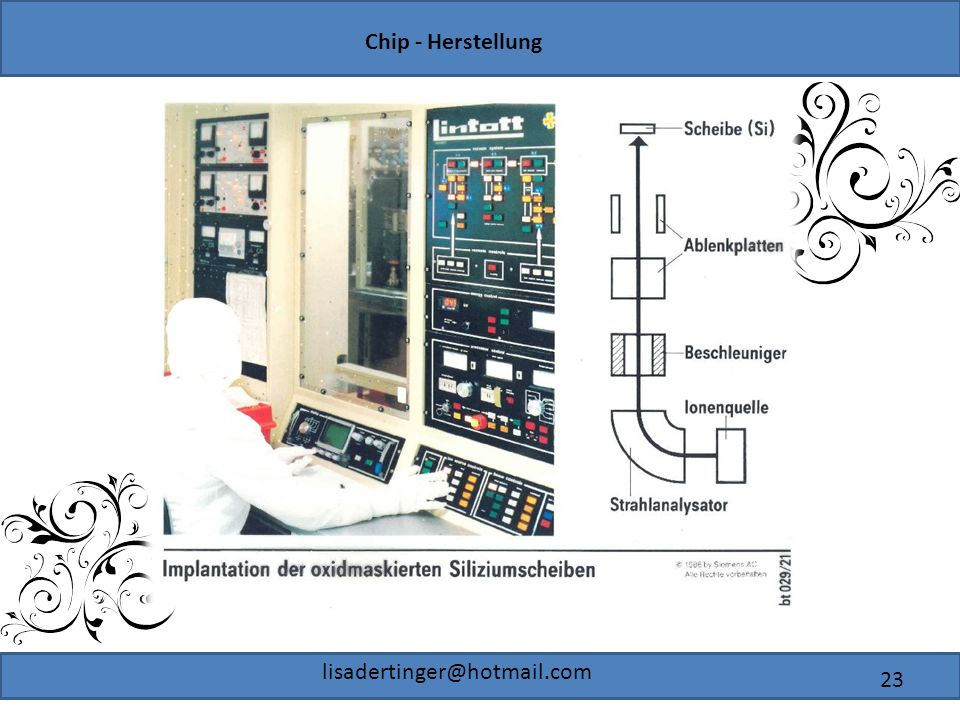 Chip - Herstellung lisadertinger@hotmail.com 23