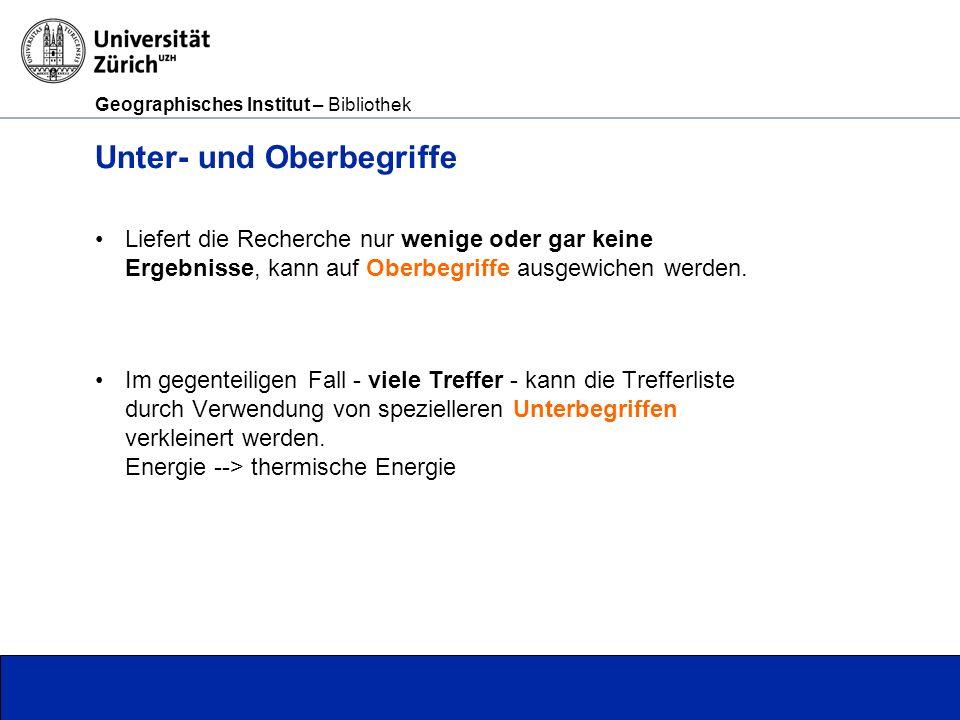 Geographisches Institut – Bibliothek Ostmitteleuropa Deutschland, Österreich, Schweiz,...