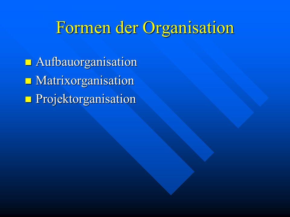 Begriff Organisation Organisation in einer Firma ist das Regeln der Erstellung von Gütern und Dienstleistungen.