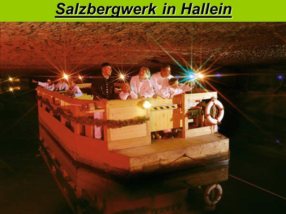 Salzbergwerk in Hallein