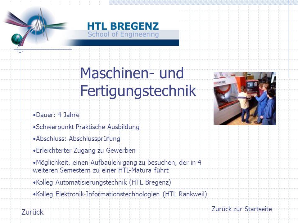 Zurück zur Startseite Elektrotechnik Achtung: neuer Lehrplan gültig ab 1.9.2007.