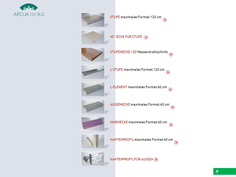  Höhere Sicherheit  Bearbeitung strukturierter Oberflächen möglich  Durchgängige Ästhetik  Ausgerundete Kanten  Erhaltung der ursprünglichen technischen Eigenschaften des Produkts  Angepasste Formen 6 EIGENSCHAFTEN DER PRODUKTE