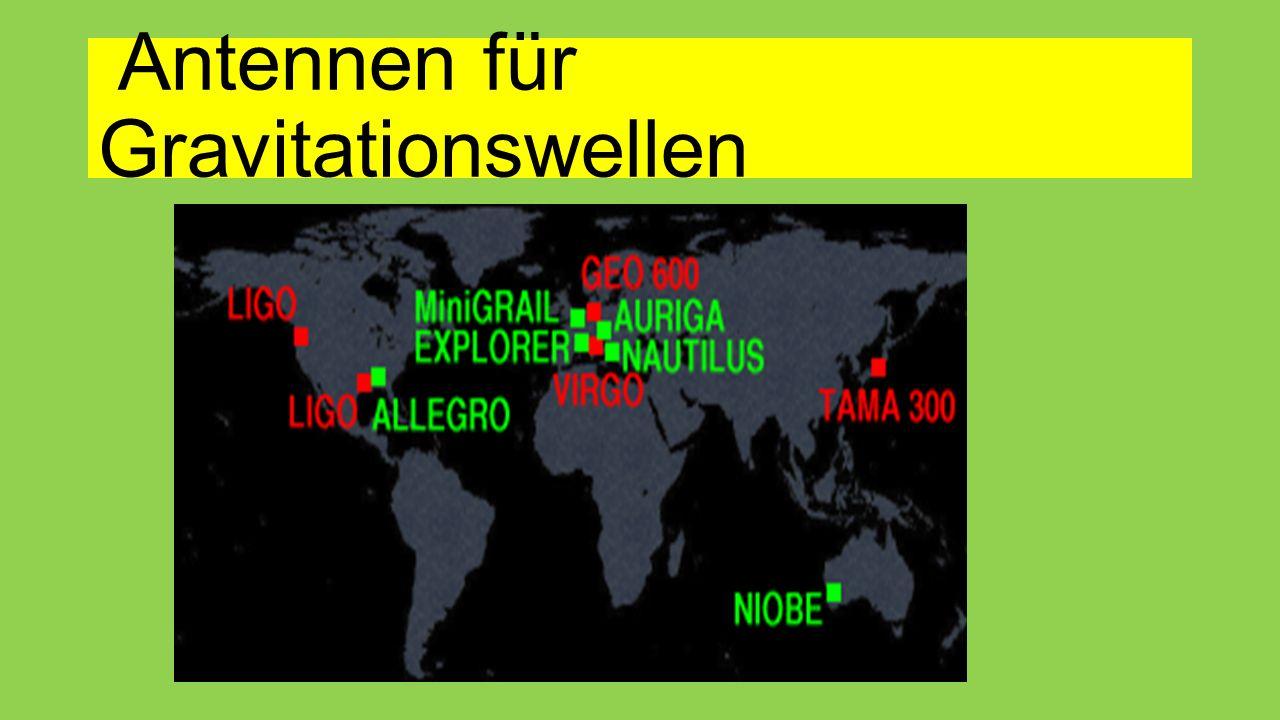 Antennen für Gravitationswellen