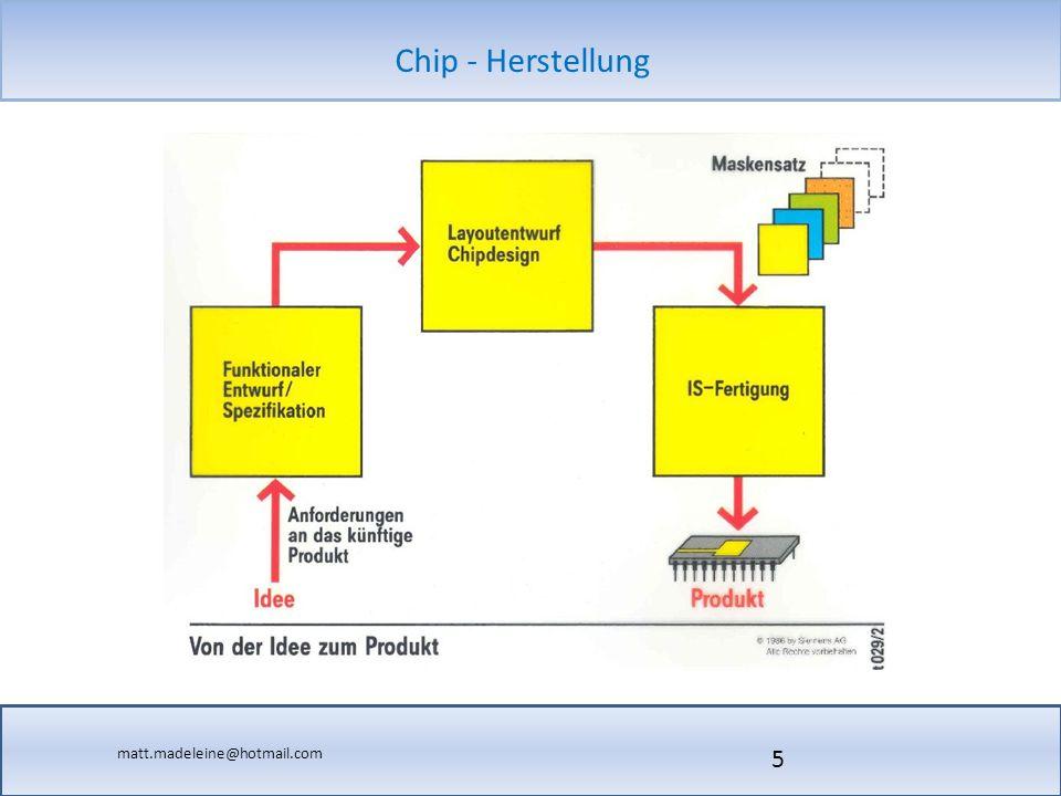 matt.madeleine@hotmail.com Chip - Herstellung 16