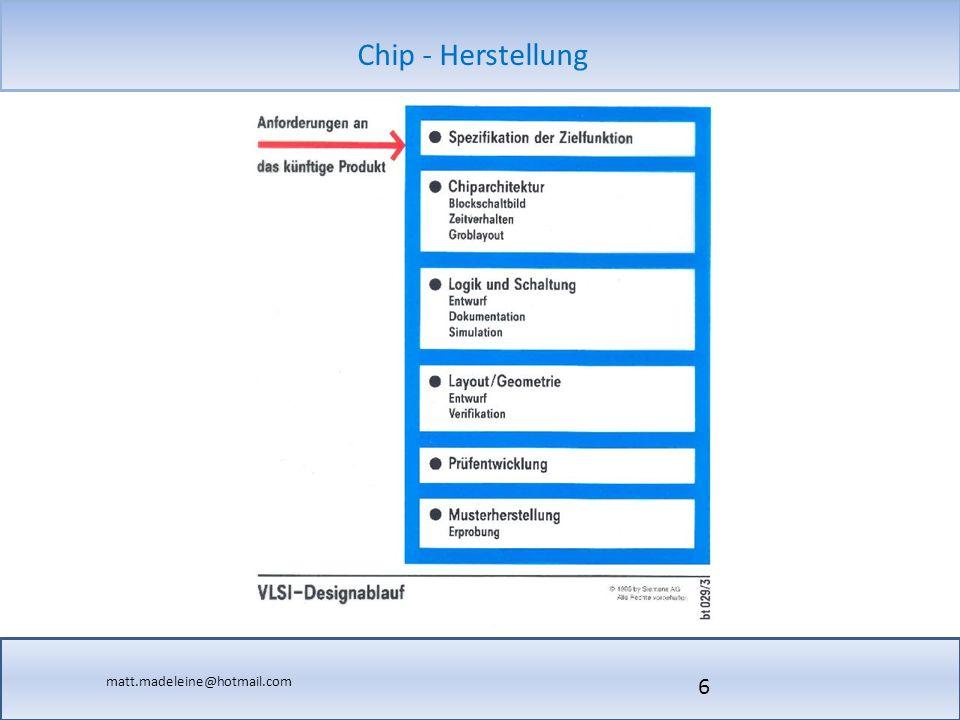 matt.madeleine@hotmail.com Chip - Herstellung 17