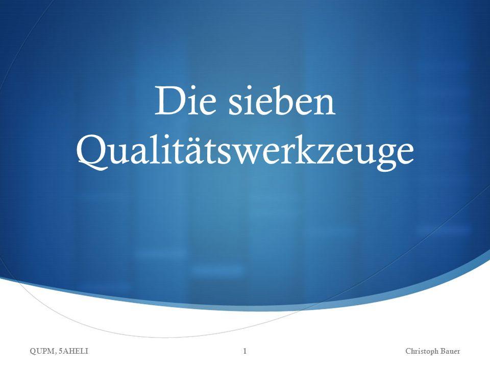 Die sieben Qualitätswerkzeuge QUPM, 5AHELIChristoph Bauer1