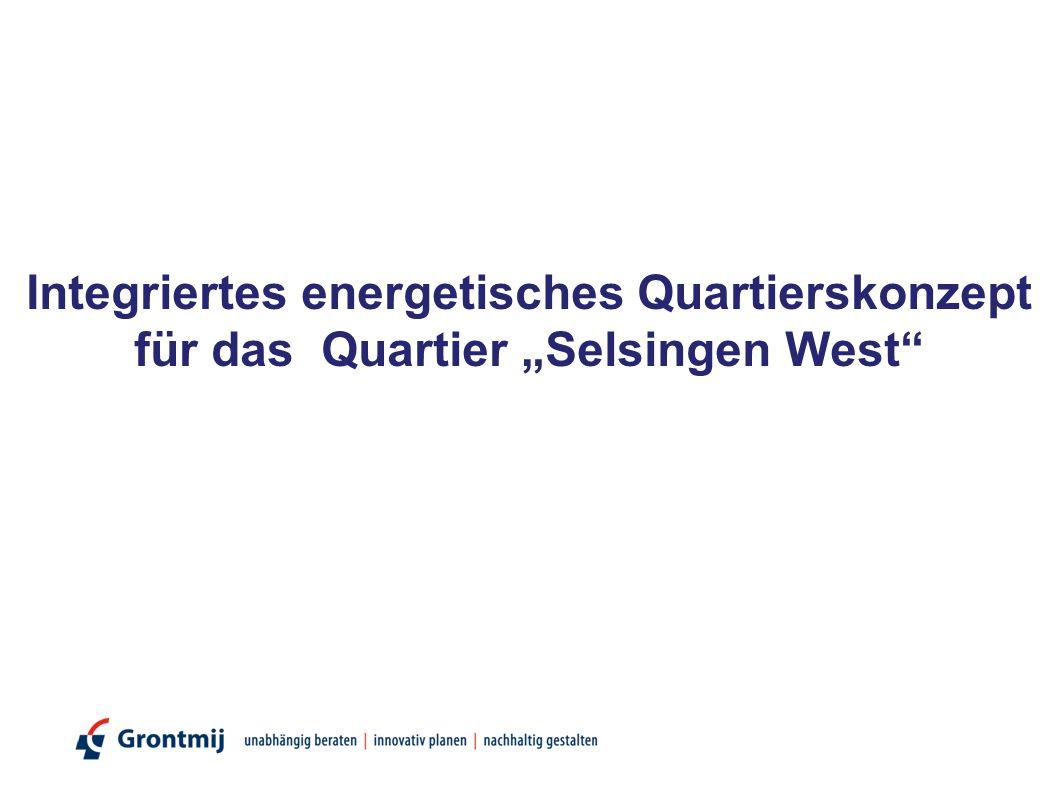 """Integriertes energetisches Quartierskonzept für das Quartier """"Selsingen West"""""""