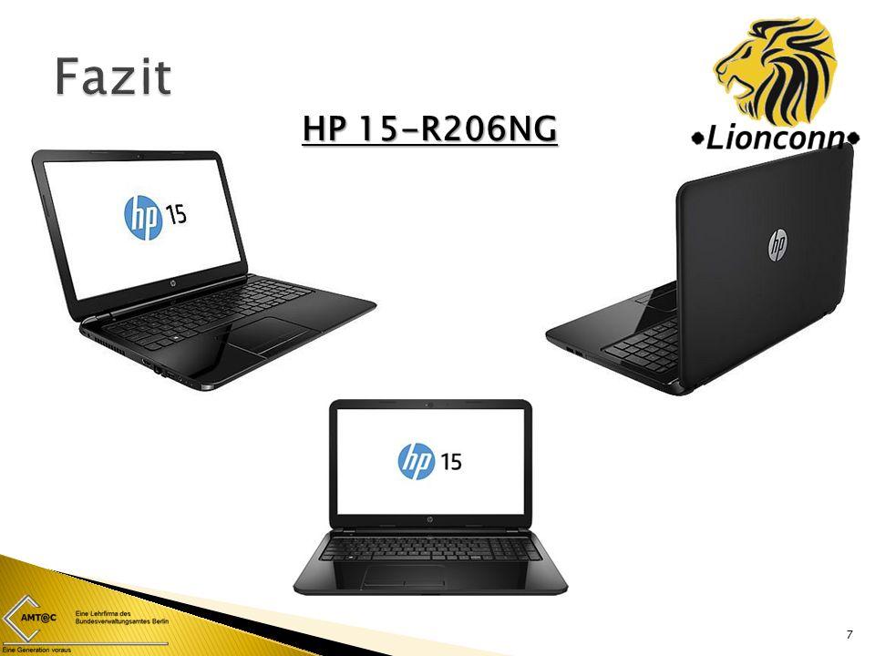 7 HP 15-R206NG