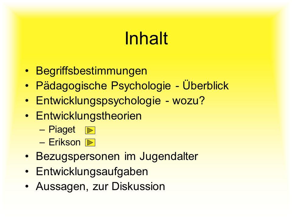 Konkret-operatorisches Denken 7.- 11. Lebensjahr Schemata können miteinander kombiniert werden.
