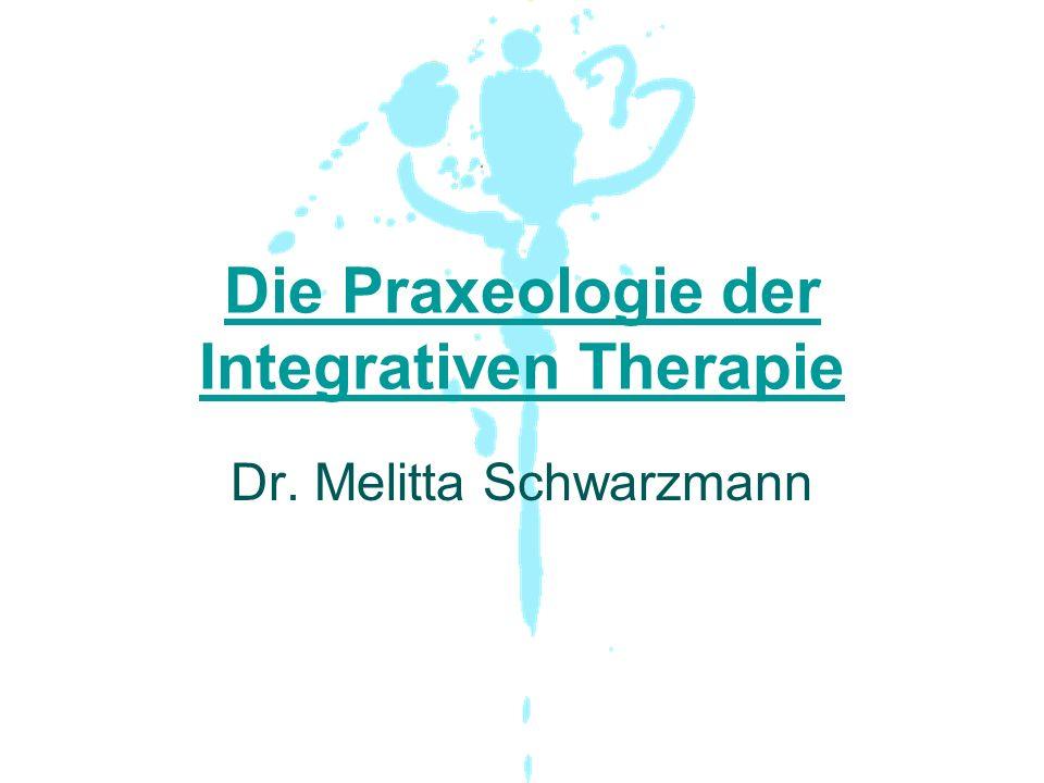 Die Praxeologie der Integrativen Therapie Dr. Melitta Schwarzmann