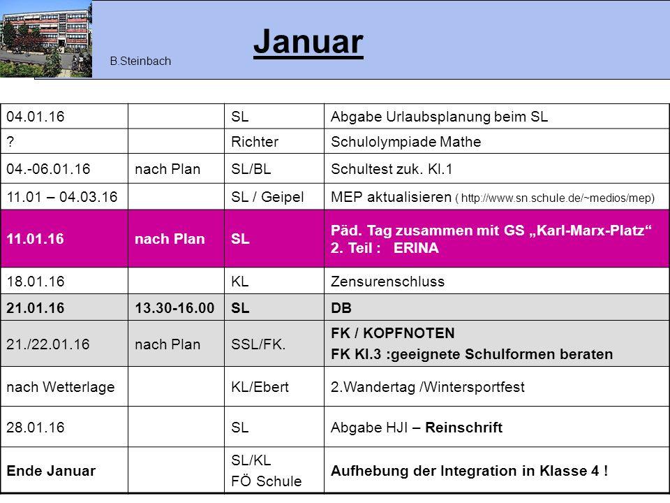 Februar 04.02.16nach Abspr.SL/KL FK Kl.4/ BE Elternwunsch auf Gesprächsprotokoll festhalten.