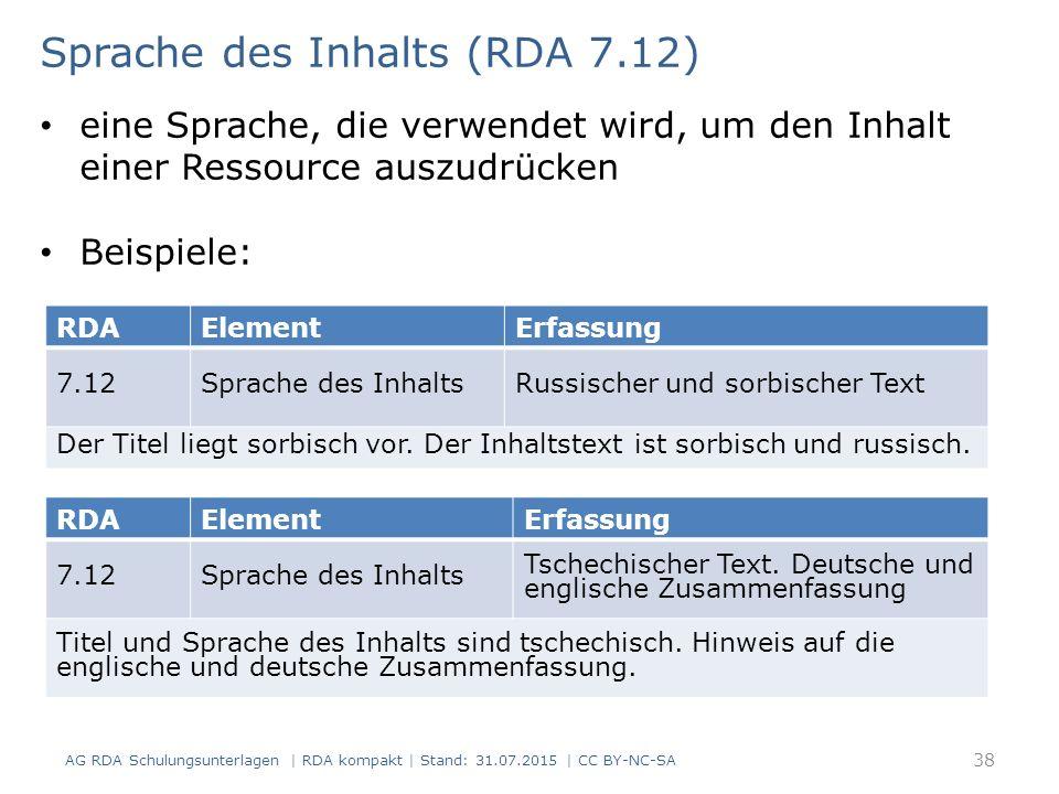 RDAElementErfassung 7.12Sprache des InhaltsRussischer und sorbischer Text Der Titel liegt sorbisch vor. Der Inhaltstext ist sorbisch und russisch. Spr